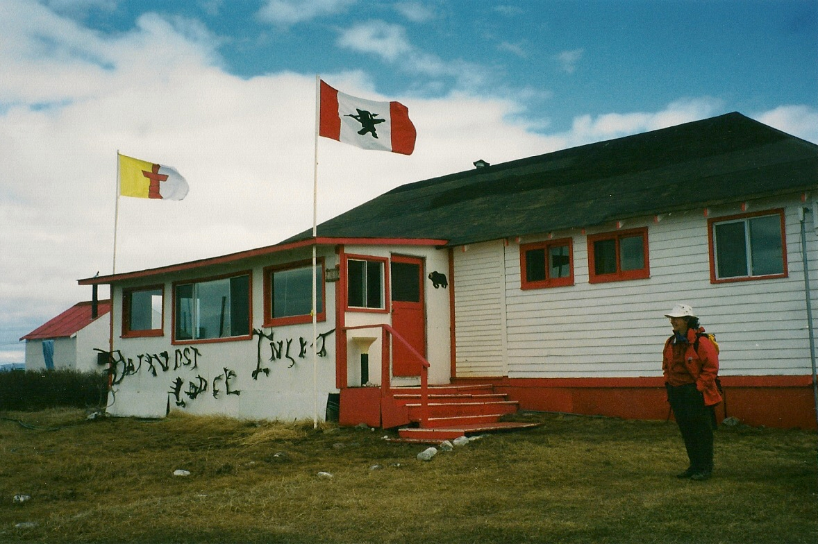 Download the full-sized image of Bathurst Inlet Lodge, Nunavut -- photograph