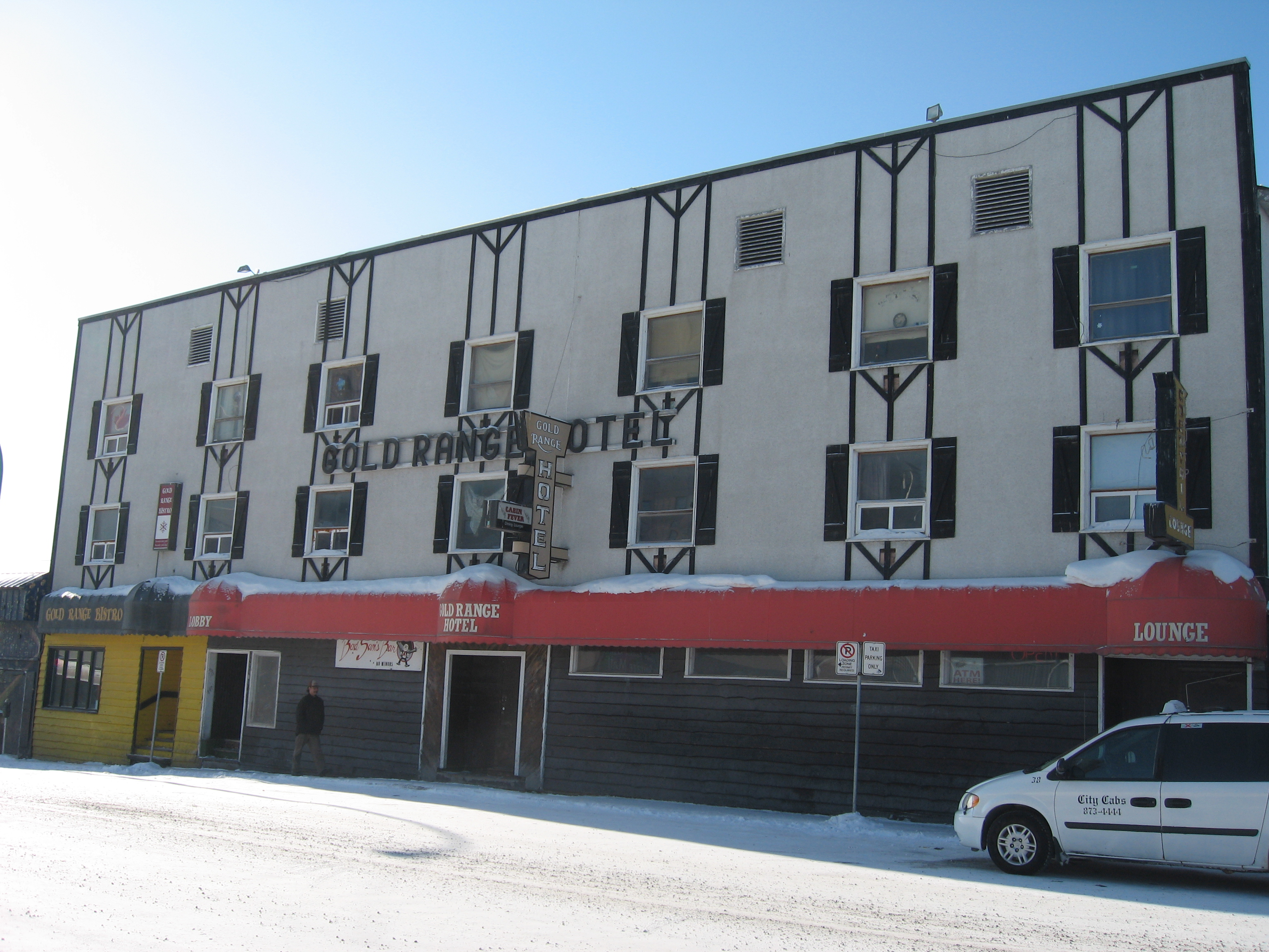 Download the full-sized image of Gold Range Hotel, Yellowknife, Northwest Territories -- photograph